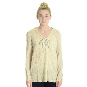 SW3 Bespoke Cream Embroidered  Long Sleeve Blouse